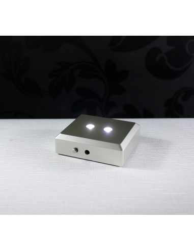 BASE LUZ FITA DE LED - 70X60MM